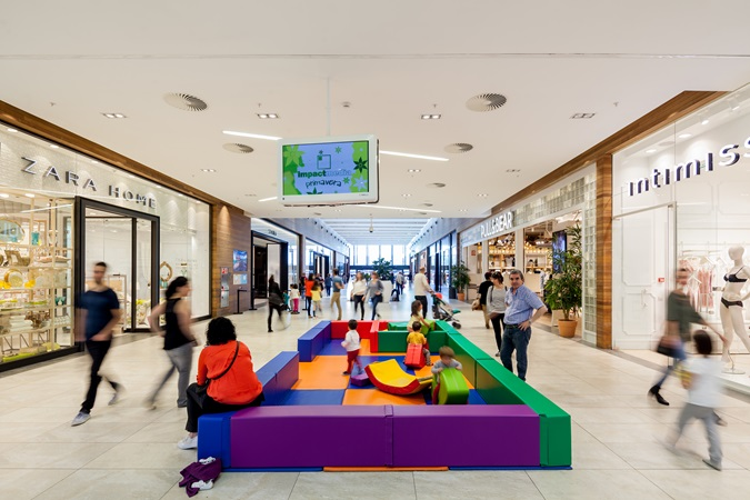 picture of kids area in garbera shopping centre