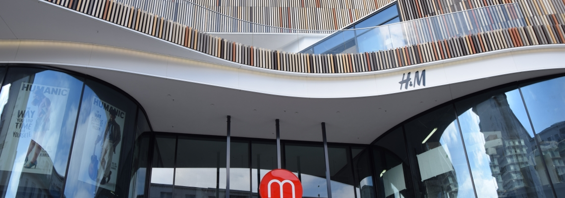 Picture of Minto shopping centre's facade